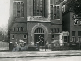 Synagoge Nijmegen – foto Regionaal Archief Nijmegen